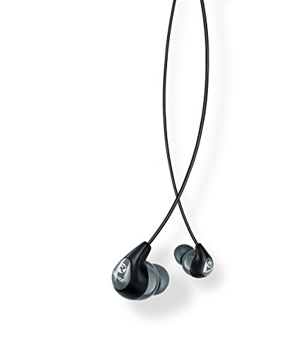 Shure SE112, Sound Isolating In-Ear Ohrhörer, schwarz/grau thumbnail