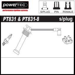 1x Powertec HT centres plomb Définit OE Pt831