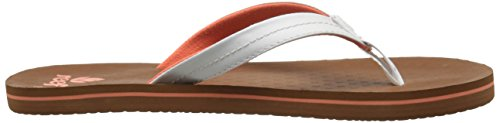 Reef Vibes, Tongs Fille Blanc Cassé - Blanco (White)
