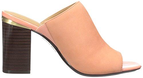 Calvin Klein Cice Femmes Cuir Sandale Salmon Rose