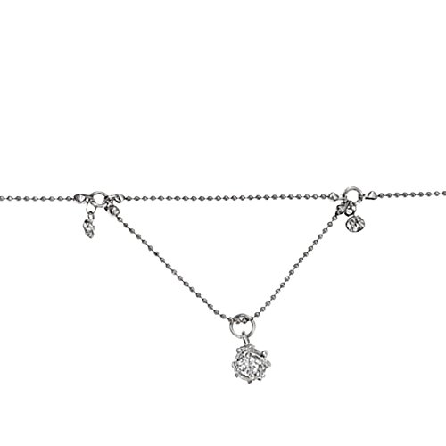 Damen-Armband Metall rhodiniert glanz Solar Kugel silber Morgan