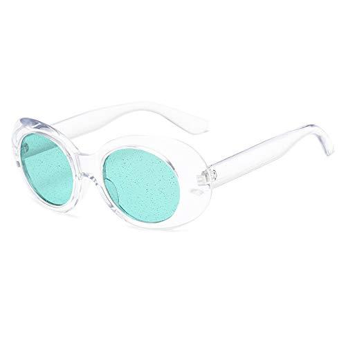 MOJINGYAN Sonnenbrillen,2019 Klare Sonnenbrille Frauen Vintage Retro Neff Kleinen Ovalen Brille Männer Sonnenbrille