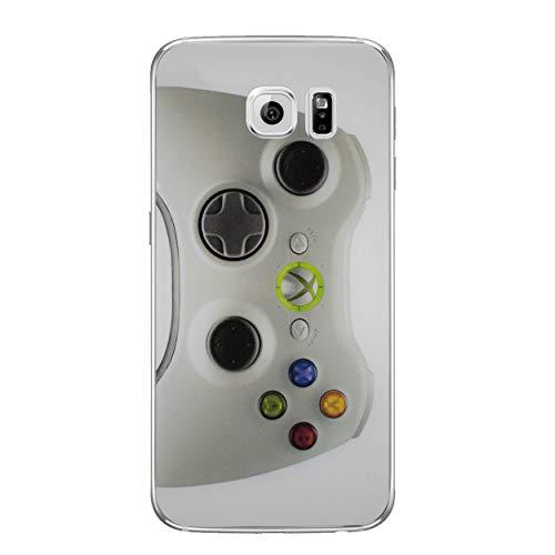 Konsolensteuerung Telefon Hülle/Case für Samsung Galaxy S6 (G920) mit Displayschutzfolie/Silikon Weiches Gel/TPU / iCHOOSE/Xbox 360 (Klein) (Xbox 360 Spiele Für Kleine Jungen)