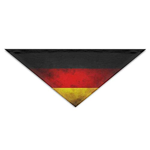 Wfispiy Vintage Striped German Flag Dog Bandanas Scarves Bibs Scarfs Soft Basic Dogs Neckerchief Cat Collars Pet - Girl Blues Brothers Kostüm