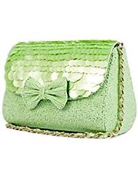 Nitya Biswas Women's Sling Bag (Green)