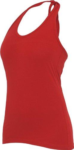 Urban Classics Damen Top Ladies Neckholder Shirt Rot