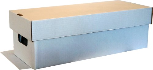 Preisvergleich Produktbild BCW Manga, DVD, Media Storage Box - Archiv Box für DVD's, Blu-Ray's, Mangas, Taschenbücher