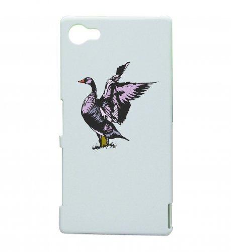 Smartphone Case Uccelli in viola Anatra Colomba Volare Stormo di uccelli per Apple Iphone 4/4S, 5/5S, 5C, 6/6S, 7& Samsung Galaxy S4, S5, S6, S6Edge, S7, S7Edge Huawei HTC-Divert
