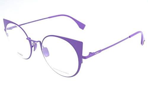 Fendi Damen FF 0192 GGD-48-21-140 Brillengestelle, Violett, 48