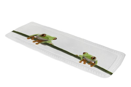 Kleine Wolke, Tappeto per vasca da bagno, Verde (Grün)