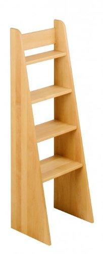 BioKinder 22255 Escalera de Mano Noah, Cama de Aliso de Madera Maciza 120 cm