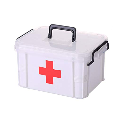 Übergroße Familie Medizin Cabinet Multilayer Medizinische Notfallmedizin Empfang Gesundheit Box Kunststoff Kinder Koffer