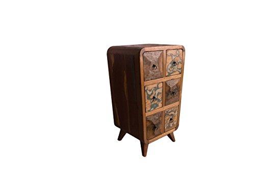 (K18)Antik Teak TV Kommode Kabinett Sideboard Schrank Shabby Vintage Anrichte Retro - 2