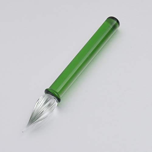 Mini-Kristallglas-Emaille-Stift, kreativer handgemachter Glasmarkierungsstift, eleganter Emaille-Stift, Werbegeschenk und Stifthalter-Geschenktüte, Kalligraphiestift. 8,5 cm -