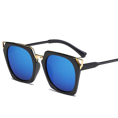 GJYANJING Sonnenbrille Die Neuen Sonnenbrillen-Sonnenbrillen-Sonnenbrillen Sind Mit Der Absatz-Sonnenbrillen-Damenpersönlichkeitssonnenbrille Ein Wahrer Trend