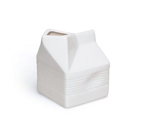 Excelsa brick lattiera, 250 ml, ceramica, bianco