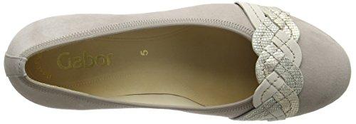 Gabor Shoes Fashion, Scarpe con Tacco Donna Beige (puder/creme/platin 10)