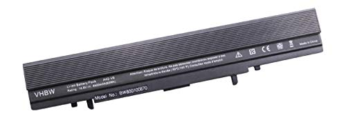 vhbw Batterie LI-ION 4400mAh 14.8V Noir Compatible pour ASUS remplace A42-V6 / 90-NAA1B1000 / S2691061