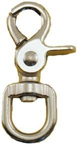 Quality Chrome 2-3/4 Trigger Snap Hook 5/8 Swivel Eye - Great for Pet Leashes, Bag Straps by ProTool -