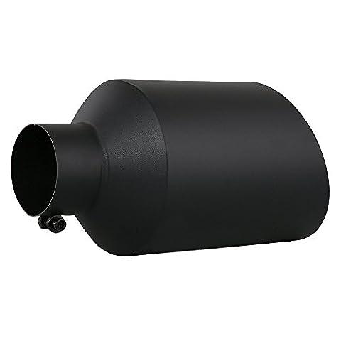 Black Stainless Steel Bolt On Diesel Exhaust Tip 4