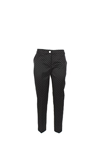 Pantalone Donna Twin-set 50 Nero/bianco Ps72ve 1/7 Primavera Estate 2017