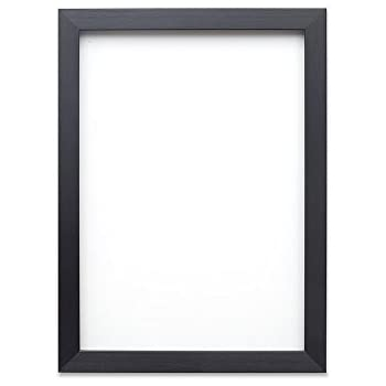 thin matt black ready made picture frame a3 size 297 x