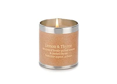 Tin Candle - Lemon and Thyme by St Eval