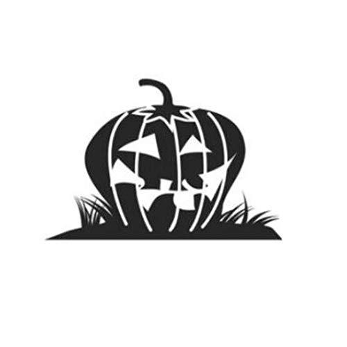 (QTXINGMU Aufkleber Halloween Kürbis Hintergrund Wall Sticker Fenster Dekoration Aufkleber Dekor Wall Sticker Home Decor (2 Pcs))