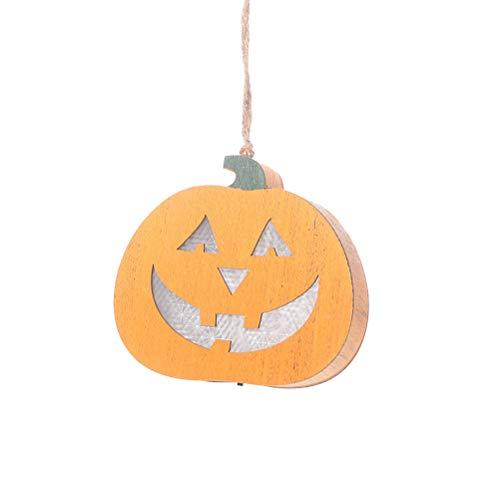 ter, die hängende hölzerne Kürbisstraßenlaternenhaus-diy Partei hängen, liefert Halloween-Dekoration ()