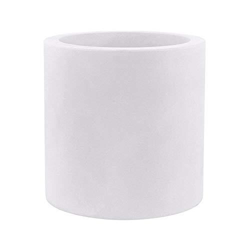 Vondom Cilindro vase diam. 80 h. 80 cm. blanc
