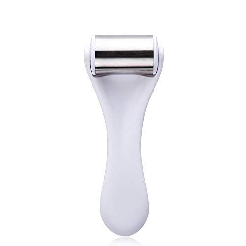 ZABB Masajeador Facial de Acero Inoxidable Rodillo de Hielo Instrumento de Belleza Reafirmante para la Piel Aliviar la Fatiga Productos para el Cuidado de la Piel Masajeador de Cara de Acero