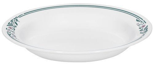 Corelle Livingware 15-Ounce Rimmed Soup/Salad Bowl, Rosemarie by Corelle Coordinates Corelle Rosemarie