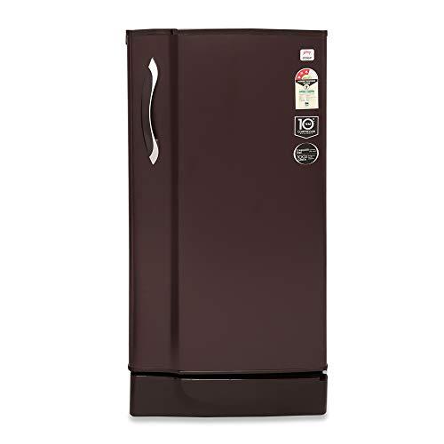 Godrej 190 L 2 Star Direct-Cool Single-Door Refrigerator (R D EDGE 205 WRF 2.2 SHL WIN, Shel Wine)