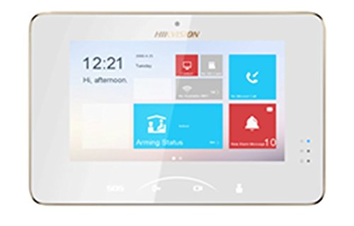 HIK475 - HIKVISION DS-KH8301-WT INDOOR STATION INTERCOM, 7'' TOUCHSCREEN, WiFi, VoIP W/ CAMERA & 2YR WARRANTY