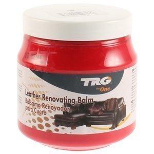 TRG Leder Renovieren Balsam - Passend für Leder Möbel, Jacken und taschen 300ml (Verschiedene Farben Erhältlich) - Rot,