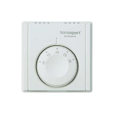 Homexpert THR830TBG - Termostato de ambiente analógico, color blanco