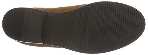 Hilfiger Denim A1385vive 12b, Bottes Classiques femme Marron - Braun (WINTER COGNAC 906)