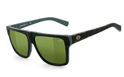 HARLEY-DAVIDSON   Flex-Scharnier, UV400 Schutzfilter, Carl Zeiss Vision Qualitätsgläser   Sonnenbrille   Brillengestell: grau, havanna, Brille: HD2027