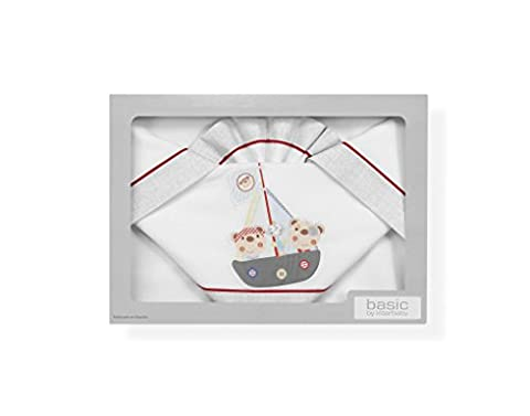 Pirate Bébé - sabanas 100% coton pour lit bébé 60x