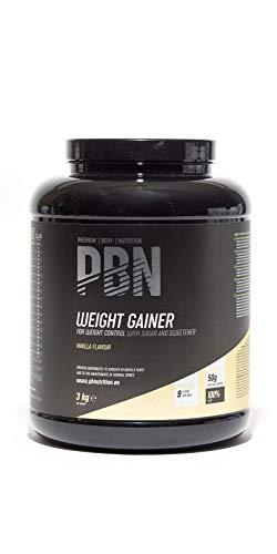 PBN Weight Gainer Vanille, 3kg-Behälter