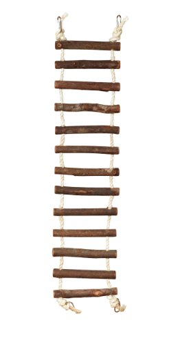Prevue Hendryx 62807 Naturals Rope Ladder Bird Toy, Large 2
