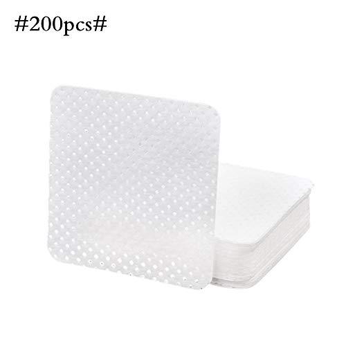 LiféUP Toallitas limpiadoras removedoras, toallitas de uñas, toallitas de algodón secas para Uso en el hogar, salón de uñas, súper Absorbente y Suave