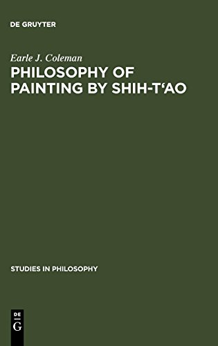 Philosophy of Painting by Shih-T'ao (Studies in Philosophy)