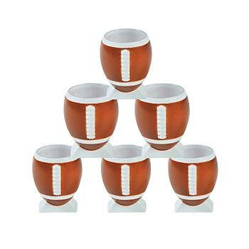 Fun Express 3 - 7582 Football-Shaped Shot Glasses by Cool Fun