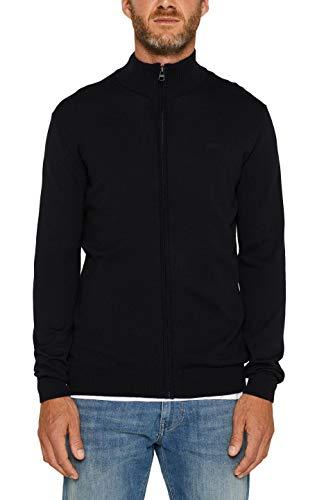 ESPRIT Herren 999Ee2I805 Pullover, Schwarz (Black 001), Medium (Herstellergröße: M)