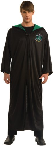 Rubies-Official-Harry-Potter-Slytherin-Robe-Adults-Costume-Medium