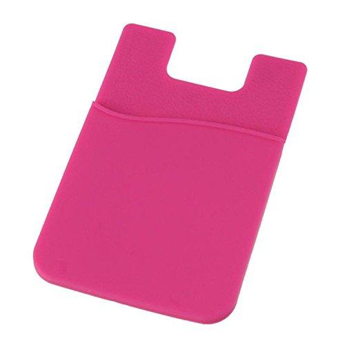Queenbox Kartenaufkleber für Telefon Klebstoff Brieftasche Zurück Beutel Kartenhalter Klebrige Tasche Ausweis Kreditkarteninhaber (Klebstoff Kartenhalter Telefon)