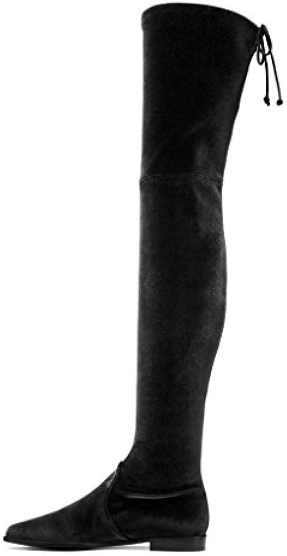 Mr.   Ms. Amy Q, Stivali Stivali Stivali Donna Design ricco Il materiale di altissima qualità Prezzo economico | Ottima classificazione  | Gentiluomo/Signora Scarpa  5eed5a