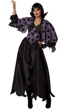 Für Force Air Erwachsene Angel Kostüm - Wilbers Federbein Damen EU 38/UK 10/12und US 6Demon Lady Kostüm