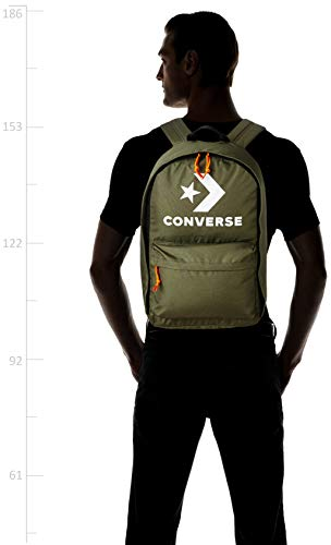 Converse 26 Ltrs Olive Casual Backpack (10007031-A02) Image 6